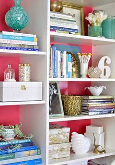 Bookshelf Decor how to style a bookshelf