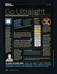 Go ultralight.