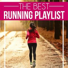 of the best running songs ever that will make you want to run! The ultimate running playlist of good running songs that are upbeat and inspiring! Good Running Songs, Running Music, Girl Running, Playlist Running, Running Playlists, Marathon Training For Beginners, Half Marathon Training Plan, Running For Beginners, One Song Workouts