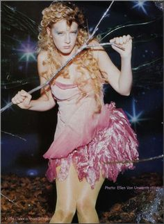Ludivine is Tinkerbell