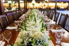 Mesa para a família - Casamento Paula e Daniel