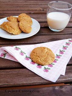 Galletas de mantequilla clásicas. Receta fácil y sencilla | Recetas de Cocina Casera | Recetas fáciles y sencillas
