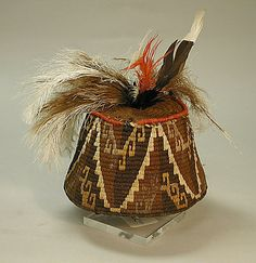 CHILE | Cap with Feathers, 10th–14th century. Chile. The Metropolitan Museum of Art, New York.