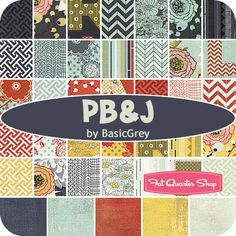 holy hotness! PB Fat Eighth Bundle BasicGrey for Moda Fabrics - Fat Quarter Shop