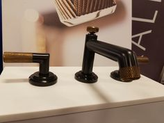 kallista faucet. Deck mount $1100 gunmetal. Could do Watermark for ...