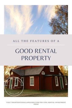 There are a fair amount of questions that you need to ask in order to know if a house will make a good rental property. WIth a bit of research you'll be.