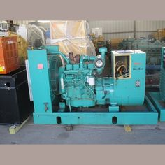 Cummins 60 kW Diesel Generator.  Model: 4BT-3.9.  108 hp @ 1800 rpm. 3 phase.   Hours: 274 since new.  Excitation: brushless. Auto-start and safety shutdowns.        Please...