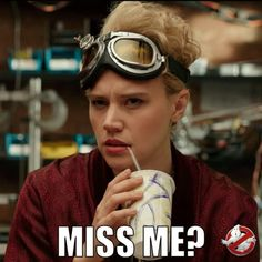 Holtzmann's missed you. See her in action when #Ghostbusters hits the big screen again this weekend! 👻👊💢