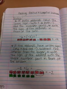 math worksheet : 1000 images about negative numbers on pinterest  integers  : Adding And Subtracting Negative Numbers Worksheets