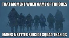 """Game of Thrones """"May the Lord of Light be with you"""" #suicidesquad #DCcomics #gotseason7 #meme"""