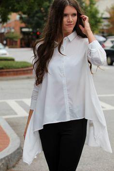 Get Down To Business White Top – ShopDressUp.com