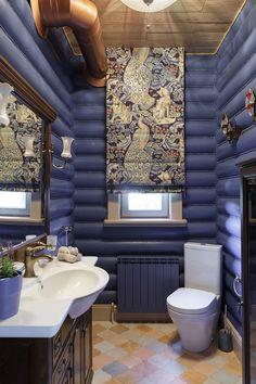 Bathroom Interior Design Ideas and Remodel Log Home Bathrooms, Bathroom Interior Design, Interior Decorating, Cabana, Log Home Interiors, Wooden House, House In The Woods, Log Homes, House Design
