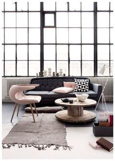 Salones de estilo nórdico | Decorar tu casa es facilisimo.com