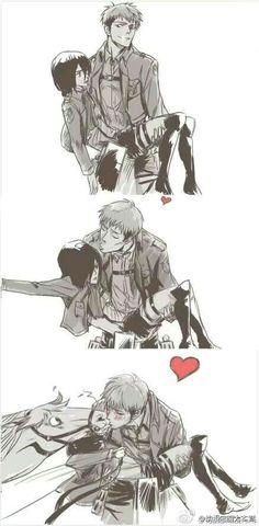 Mikasa no se dejará