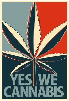 ArtEdge Yes We Cannabis Marijuana Poster Print, x Cannabis Edibles, Stoner Art, Weed Art, Psy Art, Puff And Pass, Painting Art, Weed, Medical Marijuana, Smoking Weed