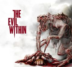 The Evil Within by DedosDeMantequilla on DeviantArt Scariest Monsters, Creepy Games, What Is Evil, Zombie Monster, Horror Video Games, I Love Games, Night Terror, Creepy Halloween, Comic Games