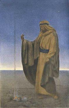 Maxfield Parrish - The Desert, 1902