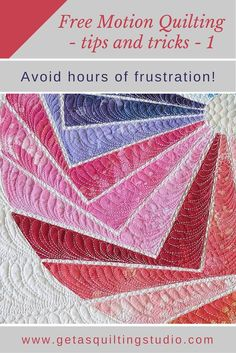 Free Motion Quilting Tips