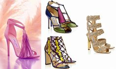 """The Jimmy Choo Cruise '16 collection journeys alongside the urban nomad through two contrasting landscapes. Explore both the untamed, sun-baked desert dunes of """"Sunlight"""" or the ethereal lunar snowscapes of """"moonlight"""".Luxe artisanal finishes, bohemian detailing and a rich earthy colour palette – p"""
