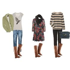 Dig these looks! Must wear with my new minnetonka boots my hubby just bought me!!!