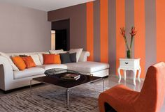 Best Pretty Living Room Photos,Modern Paint Colors For Living Room Mid Century White Walls Fresh regarding ucwords], Fancy Living Rooms, Small Space Living Room, Living Room Orange, Living Room Photos, Elegant Living Room, My Living Room, Living Room Designs, Living Room Decor, Small Spaces
