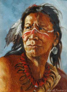 """""""Has Been Proven"""" -Outstanding Indian Art Native American Art - Native American ArtOriginal Oil Paintings"""