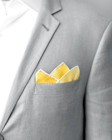 how to fold a pocket square for the guys