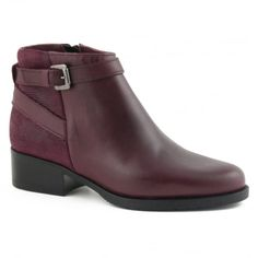 Shoon Ingrid  - Bordeaux Leather