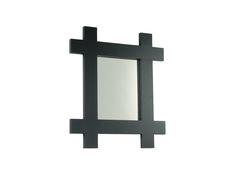 Modern stark and simply stunning matt black mirrors by Marvellous Mirrors.com :)