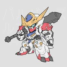 Embedded image Anime Toon, Mecha Anime, Gundam Wing, Gundam Art, Robot Concept Art, Game Concept Art, Gundam Iron Blooded Orphans, Gundam Wallpapers, Gundam Mobile Suit