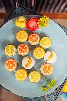 Citrus inspired wedding inspiration