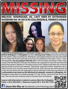 Find Missing Melissa Rodriguez!