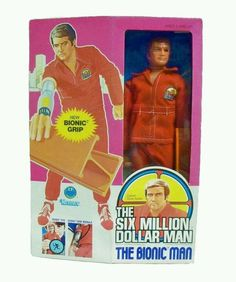 Always selling Vintage Kenner Six Million Dollar Man & Bionic Woman figures! NRFB & MIB too!