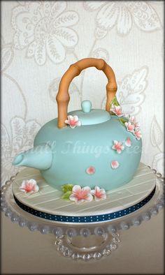 ORIENTAL TEAPOT CAKE | Flickr - Photo Sharing!