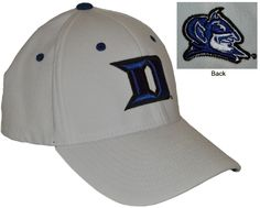 Duke- Zephyr Z-Fit Hat Conference Apparel & College Sports Apparel - Conference Wear - Salisbury, North Carolina College Hats, Sports Apparel, Salisbury, Duke, Sport Outfits, North Carolina, Conference, Baseball Hats, How To Wear