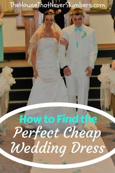 How to Find the Perfect Cheap Wedding Dress Free Wedding, Budget Wedding, Diy Wedding, Wedding Planning, Save My Marriage, Love And Marriage, Wedding Bouquets, Wedding Gowns, Wedding Consultant
