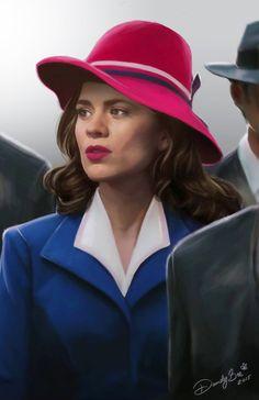 Agent+Carter+by+DandyBee.deviantart.com+on+@DeviantArt