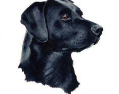 LABORATOIRE de chocolat chien Art Print signée par par k9artgallery