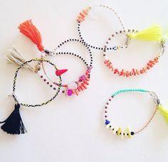 Color Theory Bracelet by LindseyCrafter on Etsy