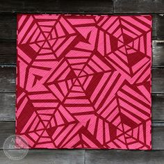 Deception Quilt (During Quiet Time) Nancy Zieman, Monochromatic Quilt, Walking Foot Quilting, Modern Quilting Designs, Two Color Quilts, Foundation Paper Piecing, Quilt Sizes, English Paper Piecing, Small Quilts