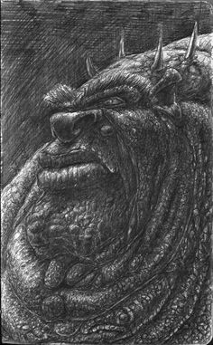 The Western Face of Glutany, Peter Kneeshaw on ArtStation at https://www.artstation.com/artwork/4yZ6W