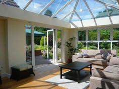 Orangeries, Conservatory, Sun Rooms Conservatories, Sun Room, Rooms, Windows, Arquitetura, Bedrooms, Winter Garden, Ramen, Window