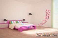 Vinyl Wall Art / Stickers - Butterflies - Wall Art