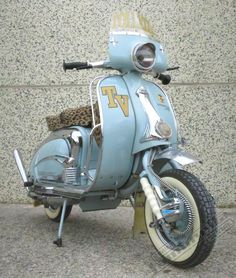Lambretta TV175 S2 Retro Scooter, Scooter Bike, Lambretta Scooter, Vespa Scooters, Motor Scooters, Sidecar, Old Pictures, Chopper, Cycling Quotes