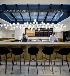 Pollen Street Socail (Lodnon, UK) | Neri | Shortlisted for Best UK Standalone Restaurant | 2012 Restaurant and Bar Design Awards
