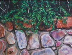 Stone Wall by Charles Marlowe