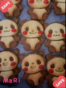 パンダクッキーの画像(プリ画像)