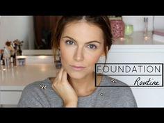 Foundation Routine | HOHE DECKKRAFT | makelloser Teint - YouTube