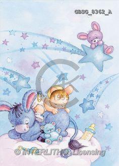 Ron, BABIES, paintings(GBSG8362/A,#B#) bébé, illustrations, pinturas
