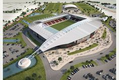 Scunthorpe United's new stadium